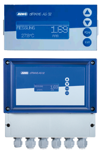 JUMO dTRANS AS 02 - Analyseinstrument / Regulator for analoge signaler (202553)