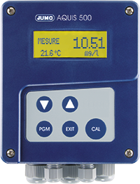 JUMO AQUIS 500 RS - Analyseinstrument / Regulator for digital giver med Modbus RS485 (202569)
