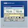 JUMO DICON touch – to kanals prosess -og programregulator med skjermskriver og touch-screen (703571)
